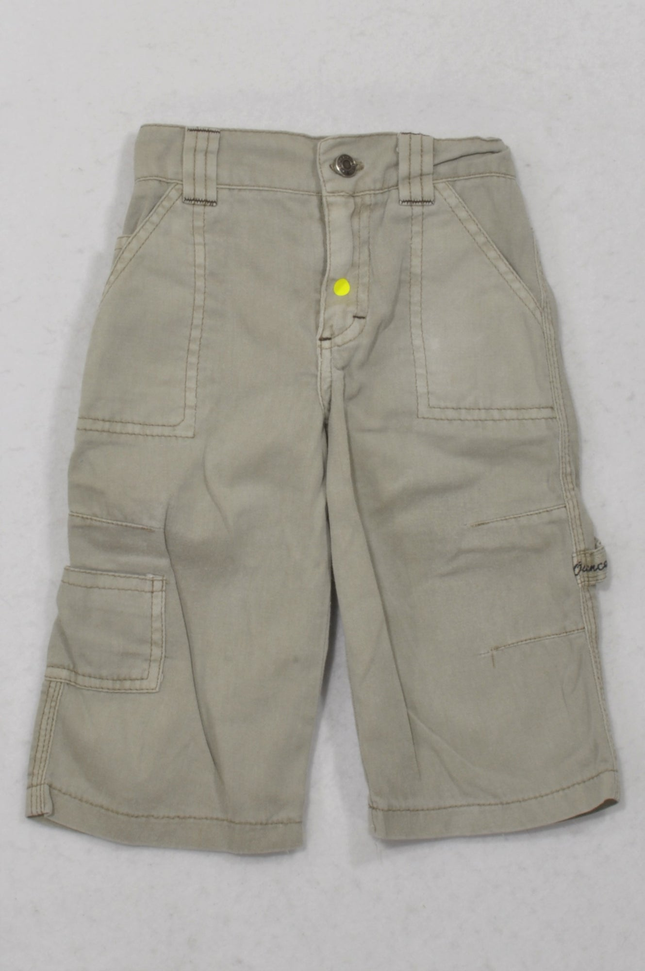 7 Ounce Stone Distressed Cargo Pants Boys 1-2 years