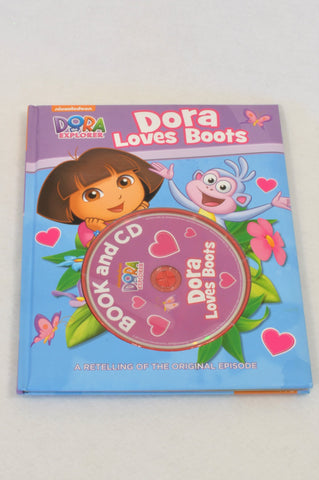Dora Loves Boots Audio Book Girls 3-10 years
