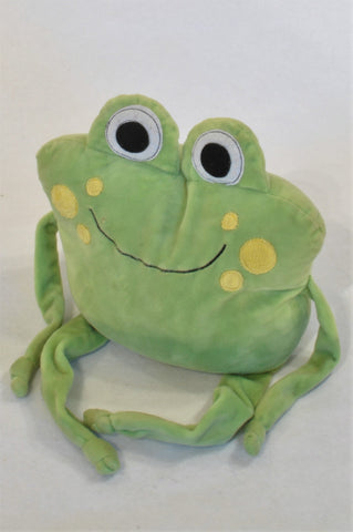 Green Frog Door Stopper Accessory Girls All Ages