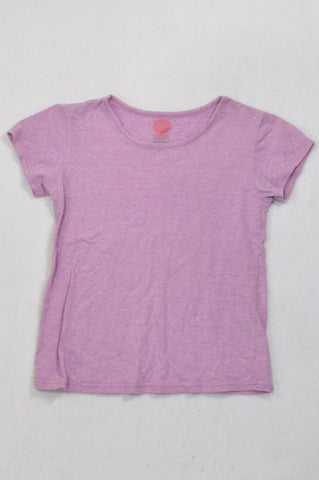 Pick 'n Pay Lavender Heathered T-shirt Girls 11-12 years