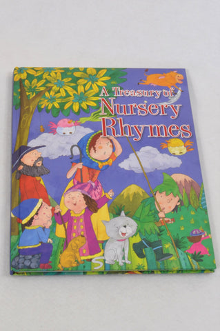 A Treasury Of Nursery Rhymes Book Unisex 4-10 years