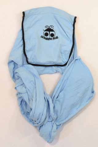 Snuggle Bug Basic Blue Wrap Carrier Boys N-B to 1 year