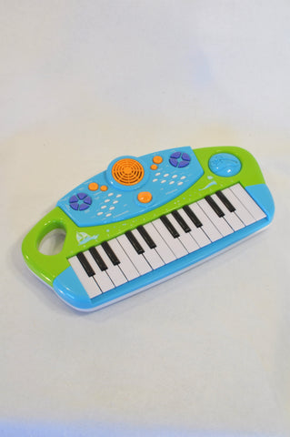 Green Musical Piano Toy Unisex 2-6 years