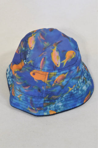 Blue Underwater Hat Boys 4-6 years
