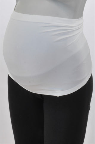 Woolworths Basic White Multi-Purpose Belly Band Maternity Accessory One Size
