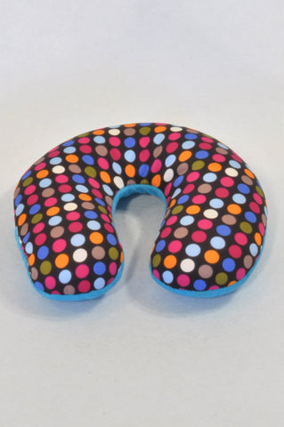 Colourful Dotty Neck Pillow Accessory Unisex N-B to 2 years