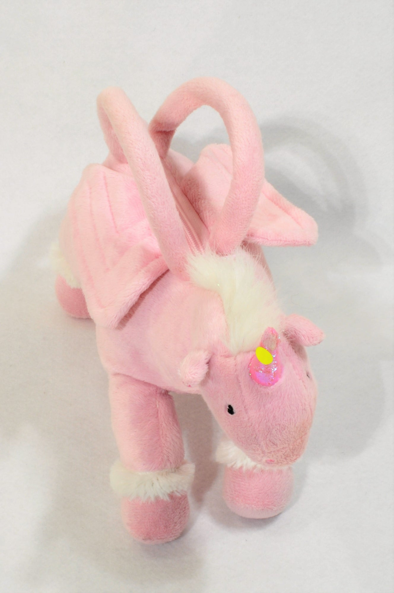 b12205ff2468 Pink Unicorn Purse Toy Girls 2-6 years – Once More