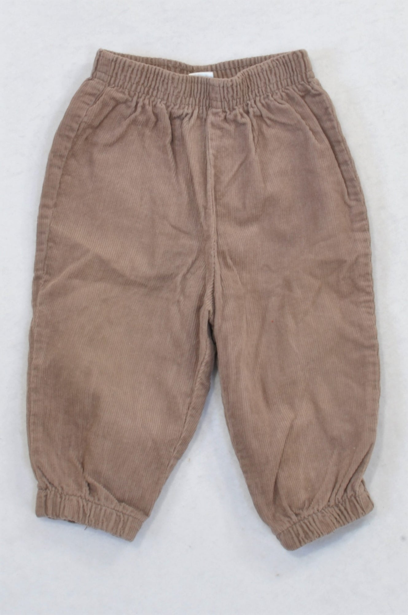 Ackermans Cuffed Tawny Corduroy Pants Girls 6-12 months