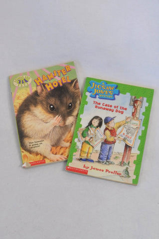 2 Pack Hamster Hotel & Case Of The Runaway Dog Book Unisex 7-14 years