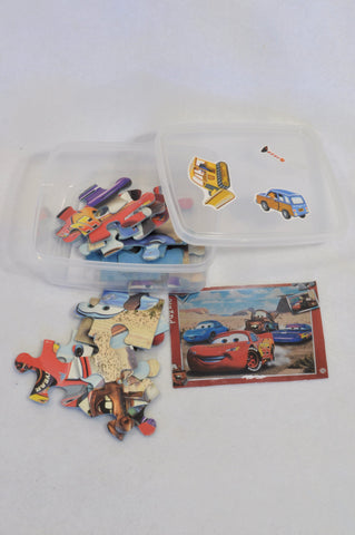 20 Pcs Cars Puzzle Boys 3-7 years