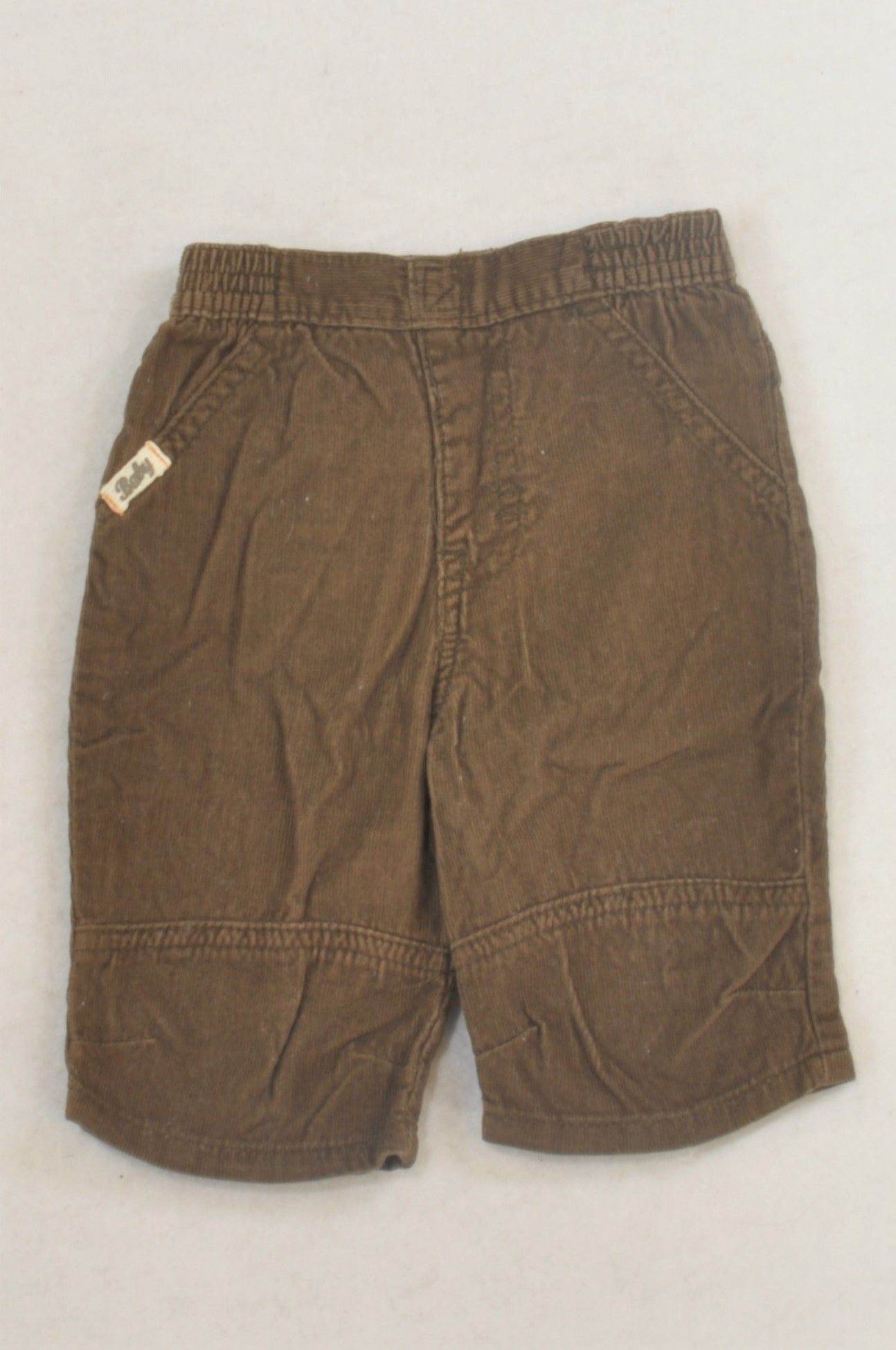 Cherokee Basic Brown Lightweight Corduroy Pants Boys 0-3 months