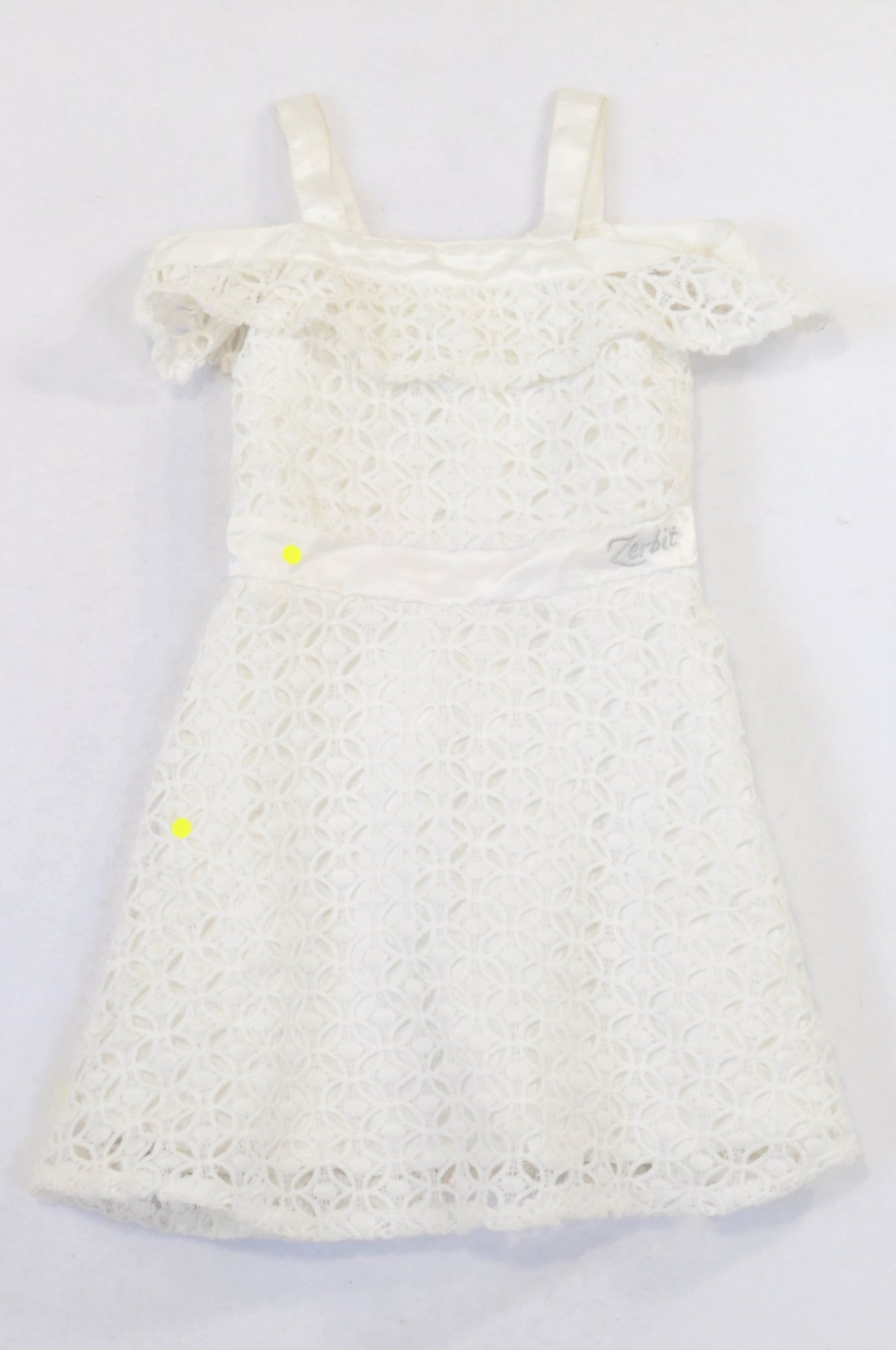 fc4c53f5633 Zerbit Textured Eyelet Occasions Dress Girls 3-4 years – Once More