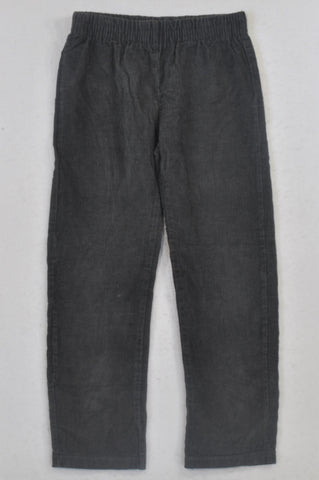 Woolworths Grey Corduroy Pants Boys 7-8 years