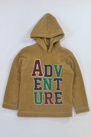 Woolworths Mustard Adventure Hoodie Boys 7-8 years