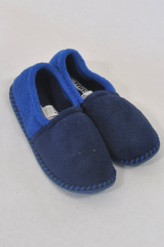 New Mr. Price Size Y2 Navy & Blue Slippers Boys 7-8 years