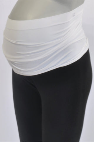 Carriwell Basic White Belly Band Maternity Accessory One Size