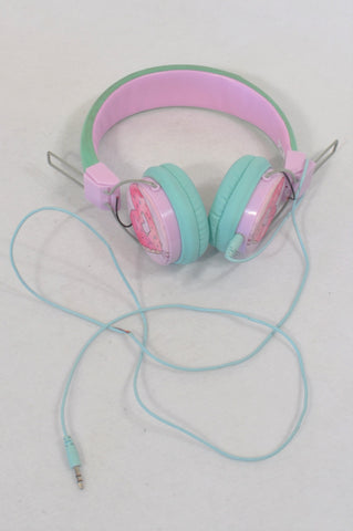 Pink & Mint Headphones Accessory Girls All Ages