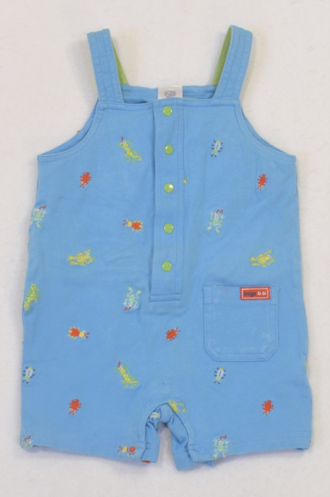 b8dd11de2f04 Blue Little Creepers Romper Boys 6-9 months – Once More