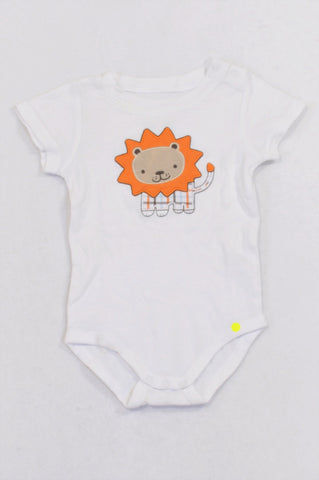 White Lion Baby Grow Boys 3-6 months