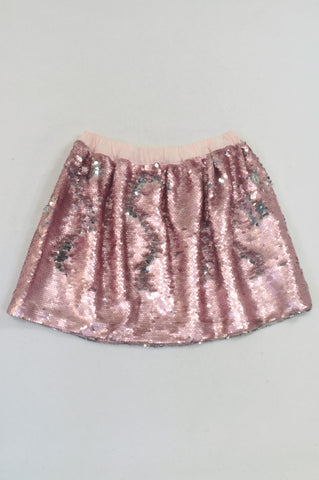 New Cotton On Blossom Sparkle Sequin Skirt Girls 7-8 years