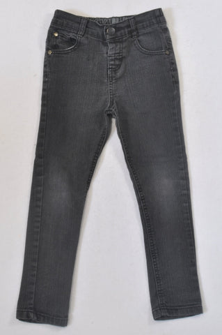 KDS Faded Black Skinny Jeans Boys 4-5 years
