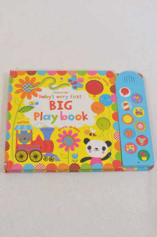 Usborne Baby's Very First Big Play Book Unisex 18 months to 3 years