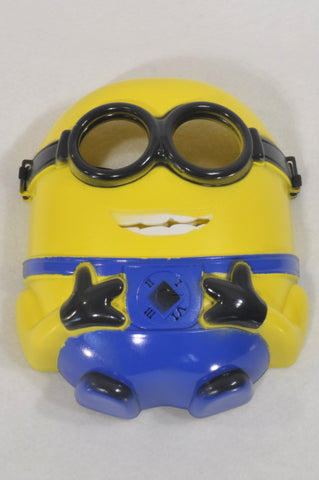 Yellow Minion Mask Toy Unisex 3-10 years