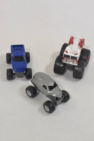 3 Pack Monster Truck Toys  Unisex 3-10 years