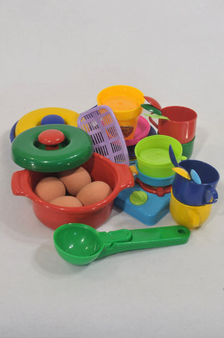 Unknown Brand Multi Color Pots & Pans Cooking Toys  Unisex 2-6 years