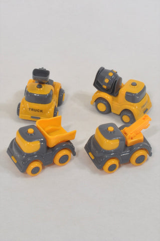 Yellow Construction Tractor Toys  Boys 4-10 years