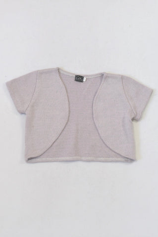 New GK Collection Grey Summer Cardigan Girls 7-8 years