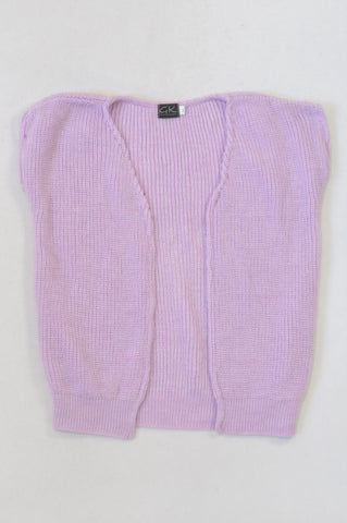 New GK Collection Lavender Knit Jersey Girls 5-6 years