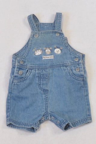 Next Denim Hey Diddle Diddle Dungarees Unisex N-B