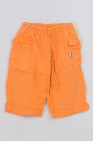 Munko Lightweight Orange Cargo Pants Unisex 18-24 months