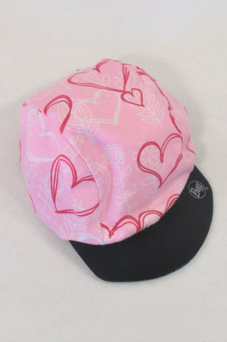Buff Pink Reversible & Adjustable Hat Girls All Ages