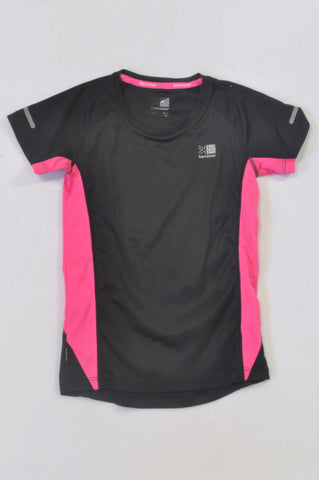 Karrimor Black & Pink Sporty T-shirt Girls 12-13 years