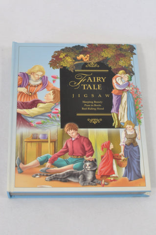 Fairytale Jigsaw Puzzle & Book Girls 3-10 years