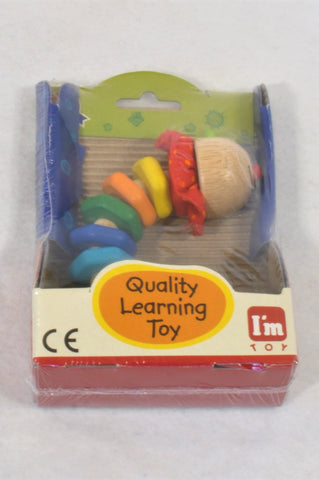 New I'm Toy Twisty Worm Grabbing Rattle Toy Unisex 6-18 months