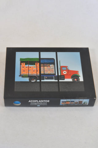 New Juguetesclap Transportation Sequence Puzzle Unisex 2-4 years