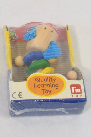 New I'm Toy Twisty Puppy Squeak Grabbing Toy Unisex 6-18 months