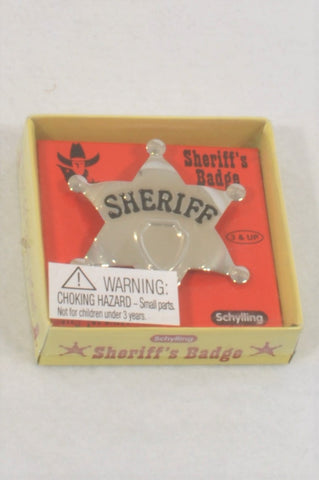 New Schylling Sheriff's Badge Toy Unisex 3-10 years