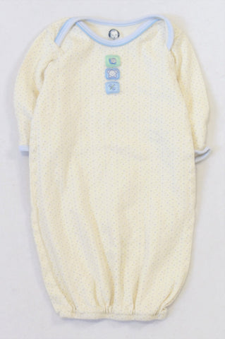 Gerber Blue & Green Dotty Organic Cotton Sleep Sack Unisex 0-6 months