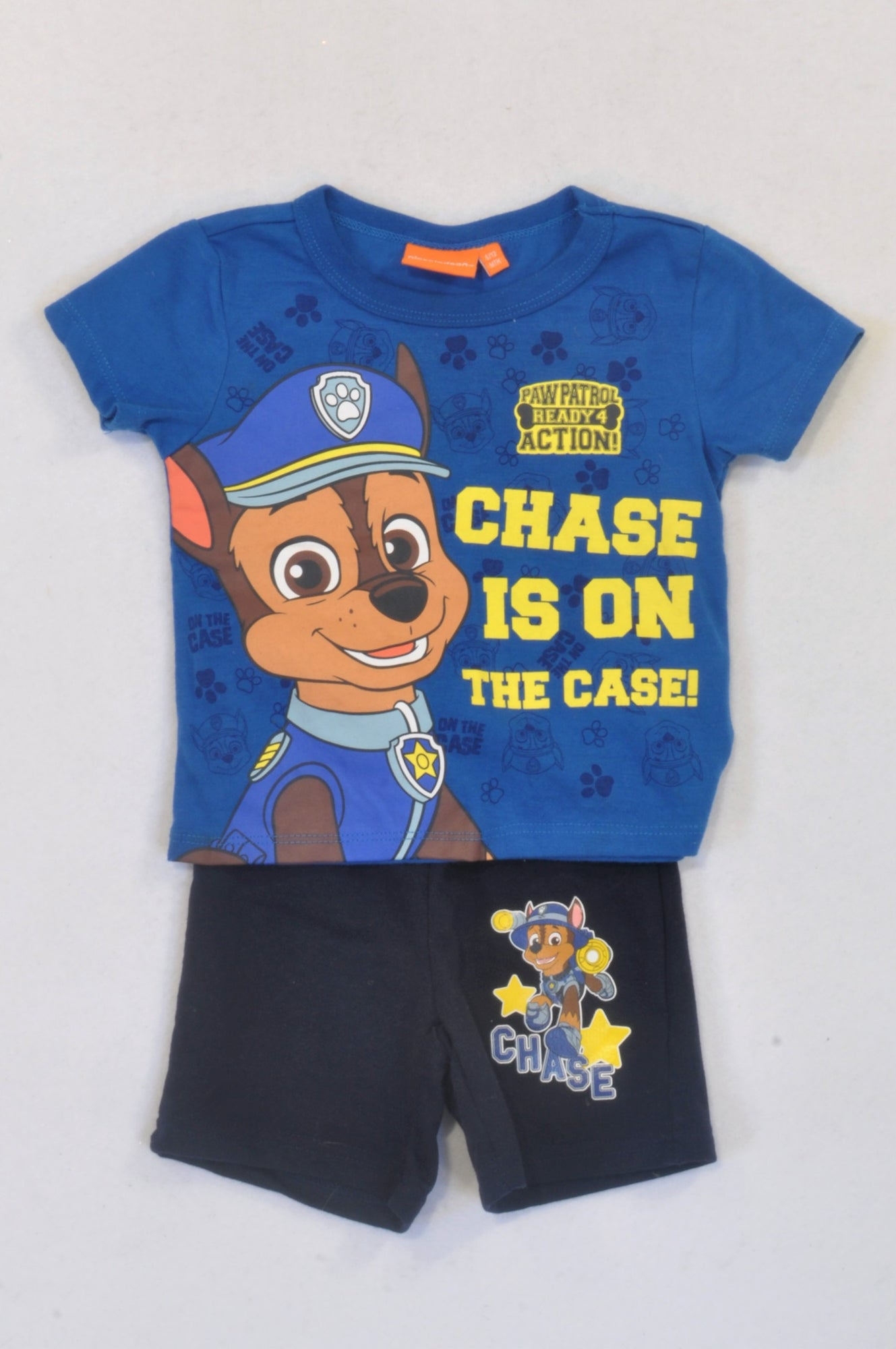 a6157140 Nickelodeon Blue Paw Patrol Outfit Boys 6-12 months – Once More