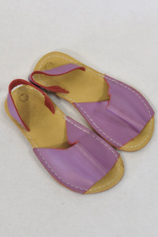 Size 9 Purple Sandals Girls 3-4 years