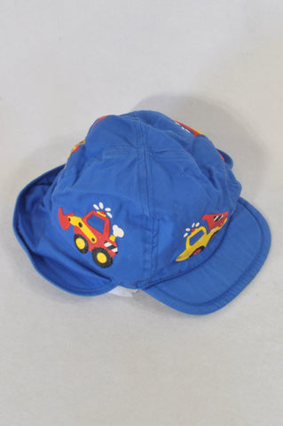 Blue Construction Hat Boys 6-12 months
