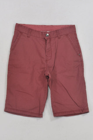 Woolworths Red Pinstripe Shorts Boys 12-13 years