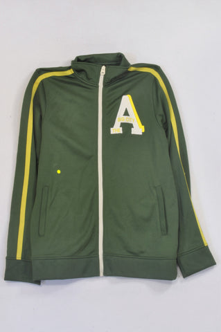 H&M Green & Yellow A Jacket Boys 13-14 years