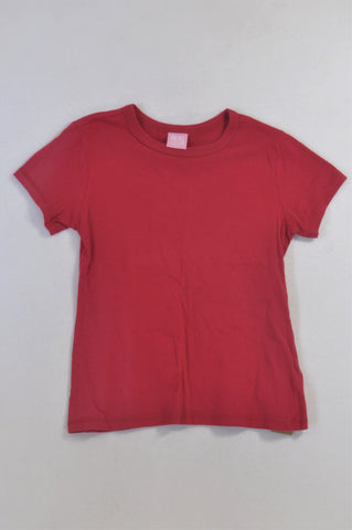 Pick 'n Pay Basic Cerise T-shirt Girls 11-12 years