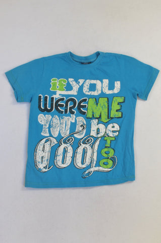 Pick 'n Pay Blue Cool Too T-shirt Boys 7-8 years