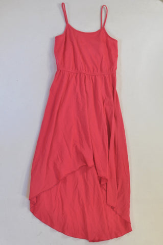 Cerise Flowy dress Girls 11-12 years